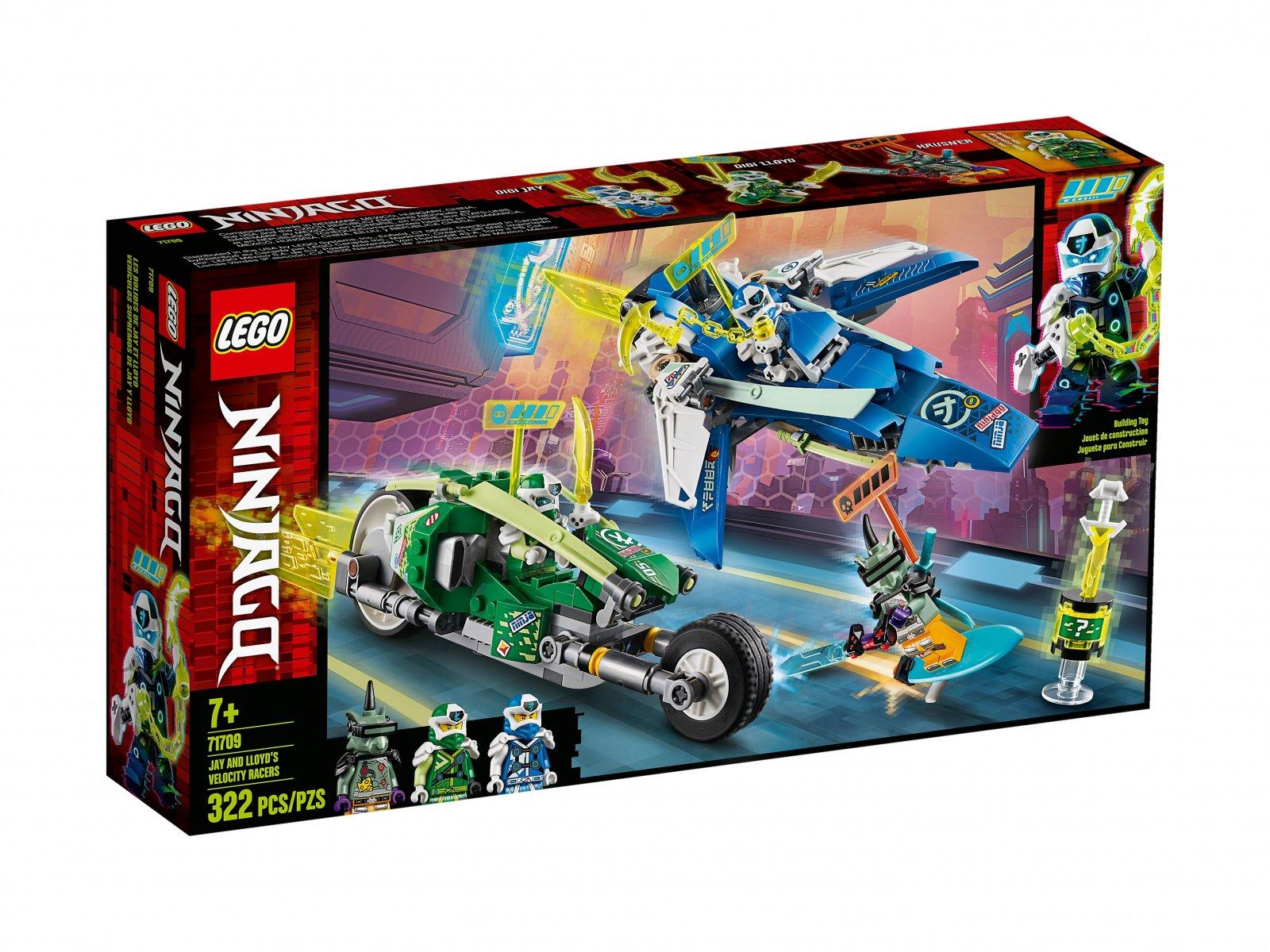LEGO 71709 Wyścigówki Jaya i Lloyda