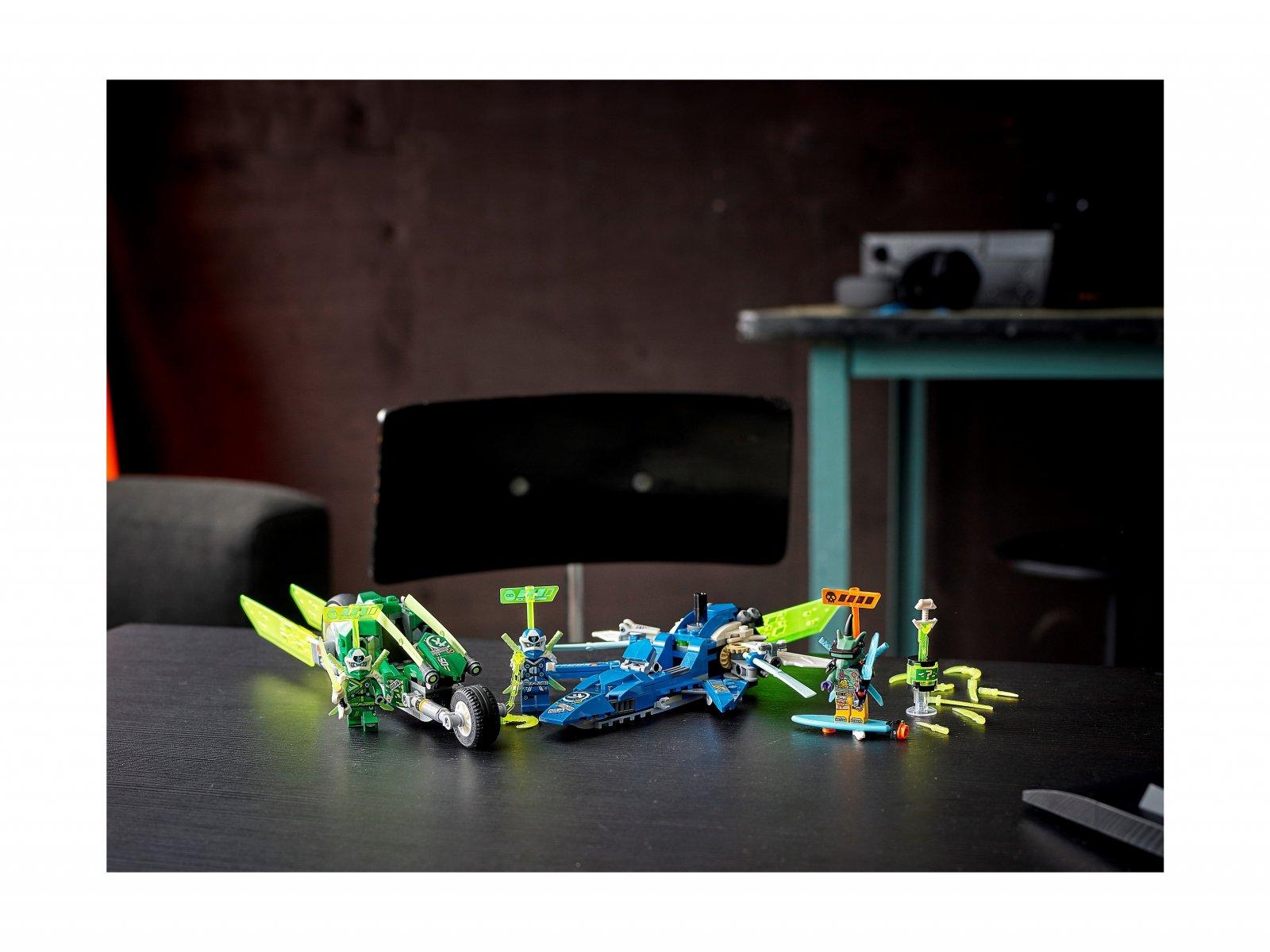 LEGO 71709 Ninjago® Wyścigówki Jaya i Lloyda