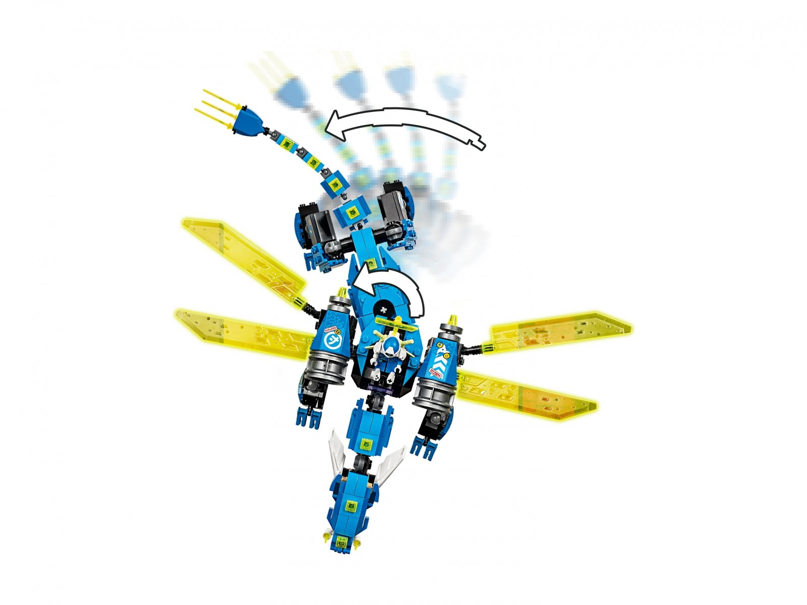 LEGO 71711 Ninjago® Cybersmok Jaya