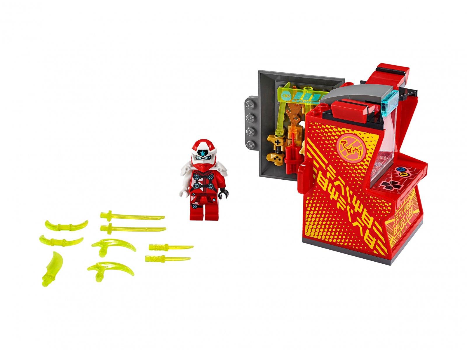 LEGO Ninjago® 71714 Awatar Kaia — kapsuła gracza