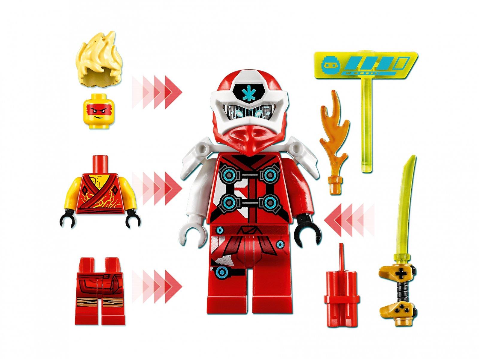 LEGO Ninjago® Awatar Kaia — kapsuła gracza 71714