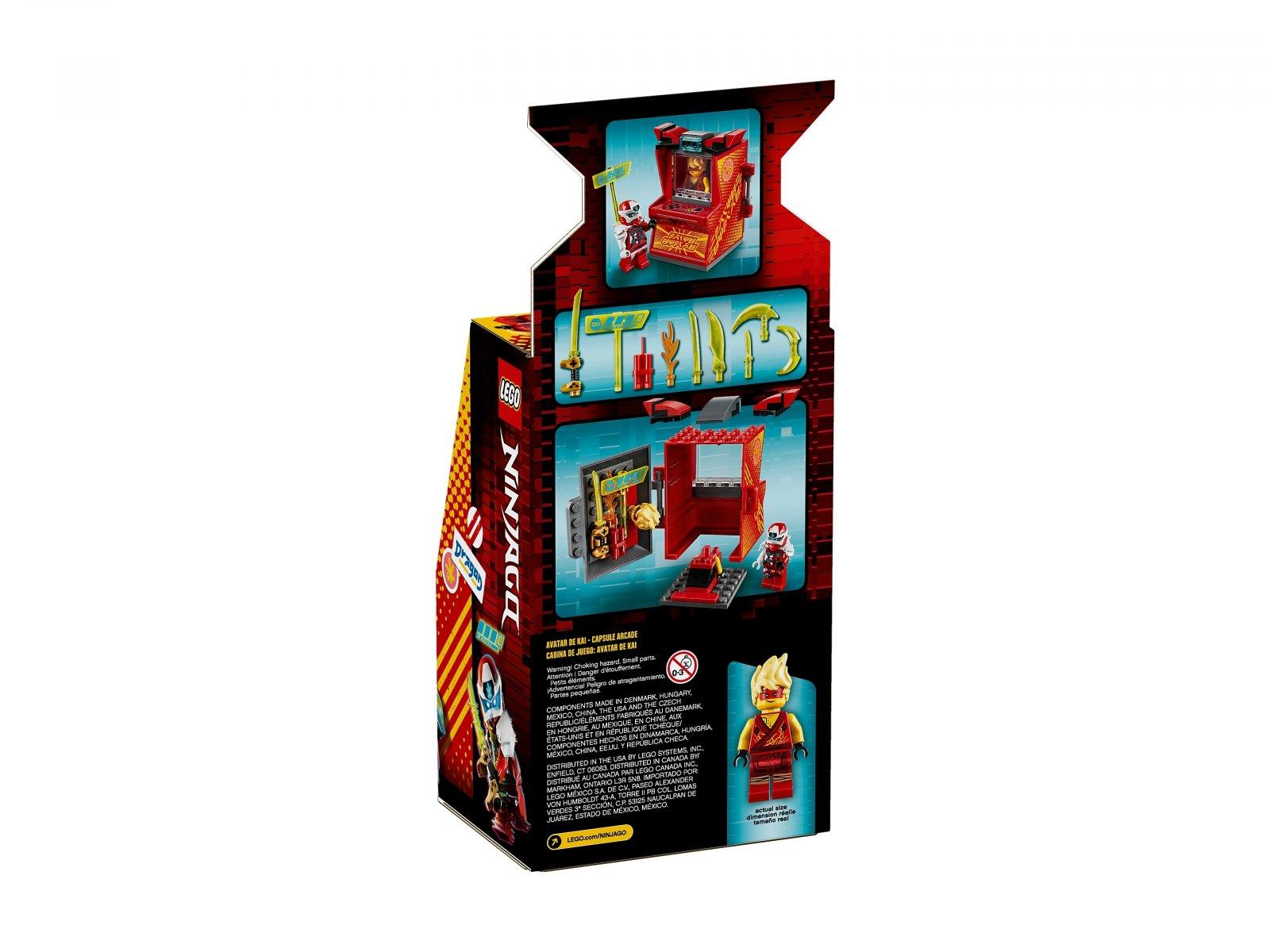 LEGO 71714 Awatar Kaia — kapsuła gracza
