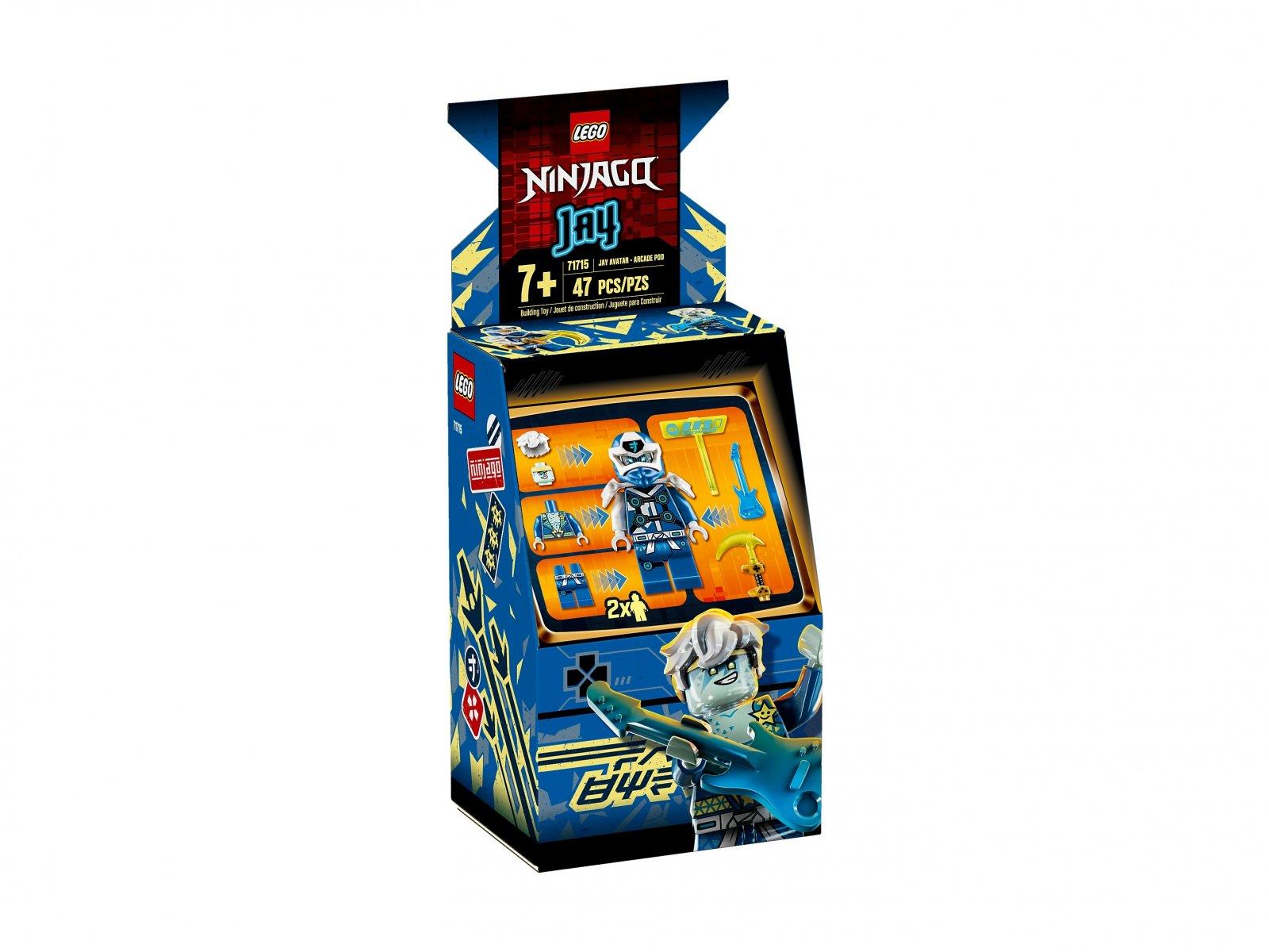 LEGO 71715 Ninjago® Awatar Jaya — kapsuła gracza