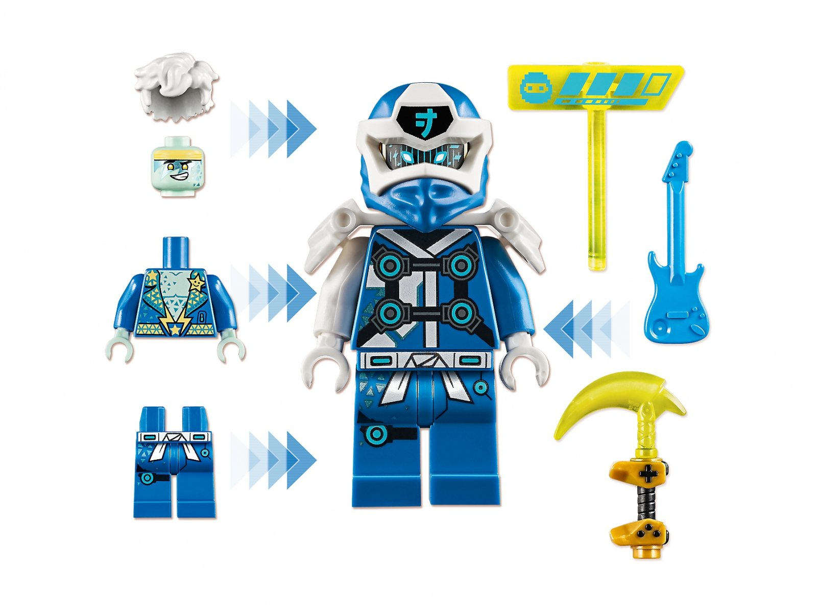 LEGO Ninjago® Awatar Jaya — kapsuła gracza 71715