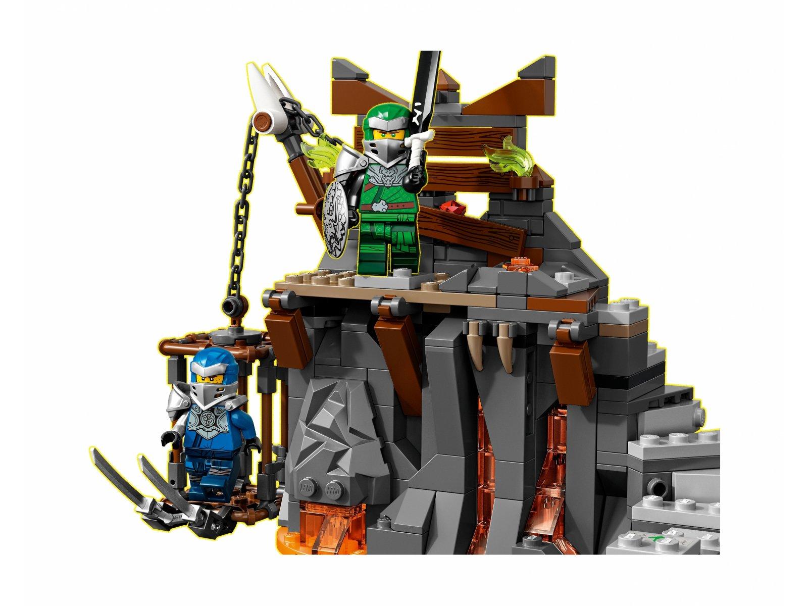 LEGO Ninjago 71717 Podróż do Lochów Czaszki