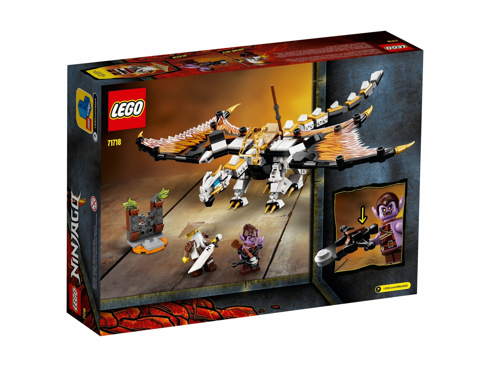 LEGO 71718 Ninjago® Bojowy smok Wu