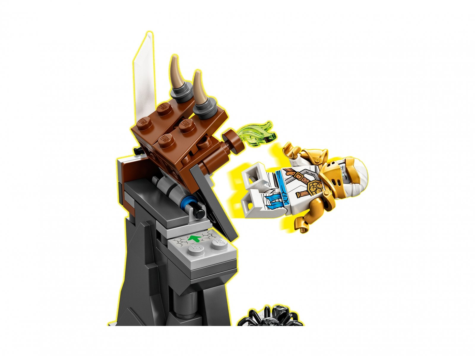 LEGO Ninjago® 71719 Rogaty stwór Zane'a