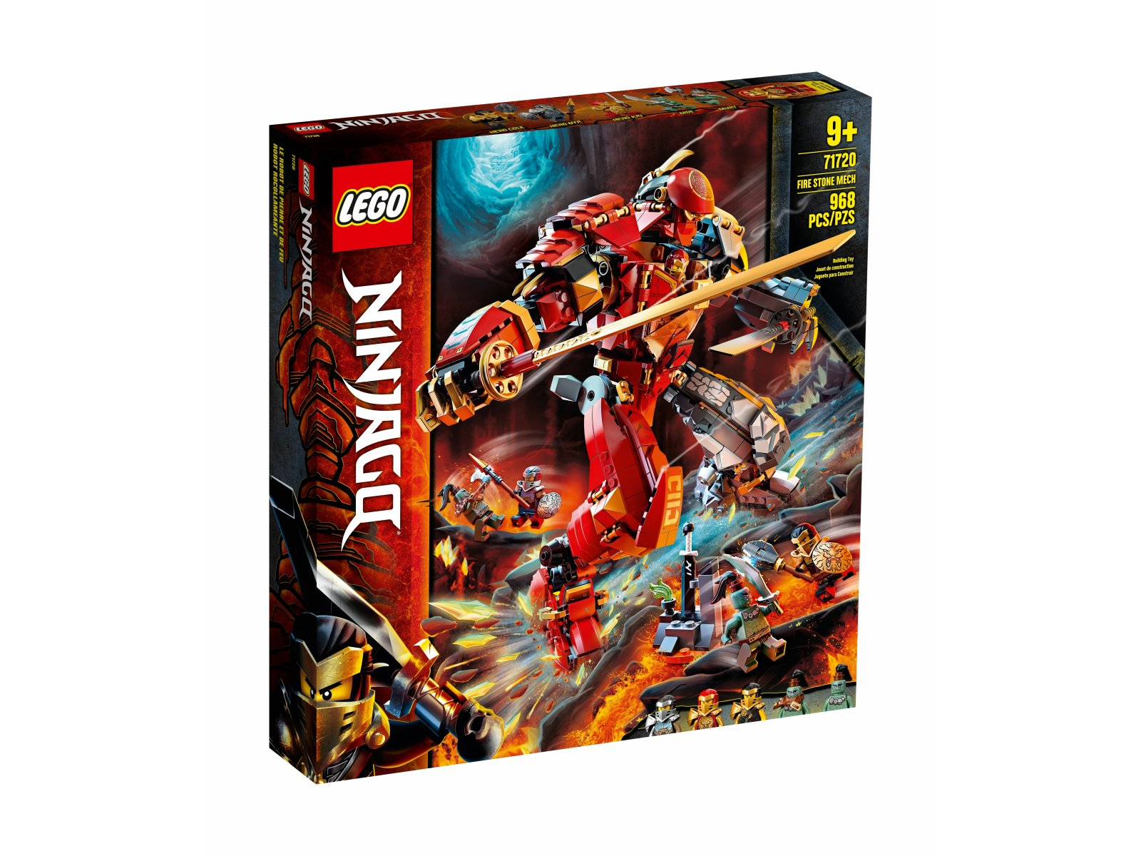 LEGO 71720 Ninjago® Mech z ognia i kamienia