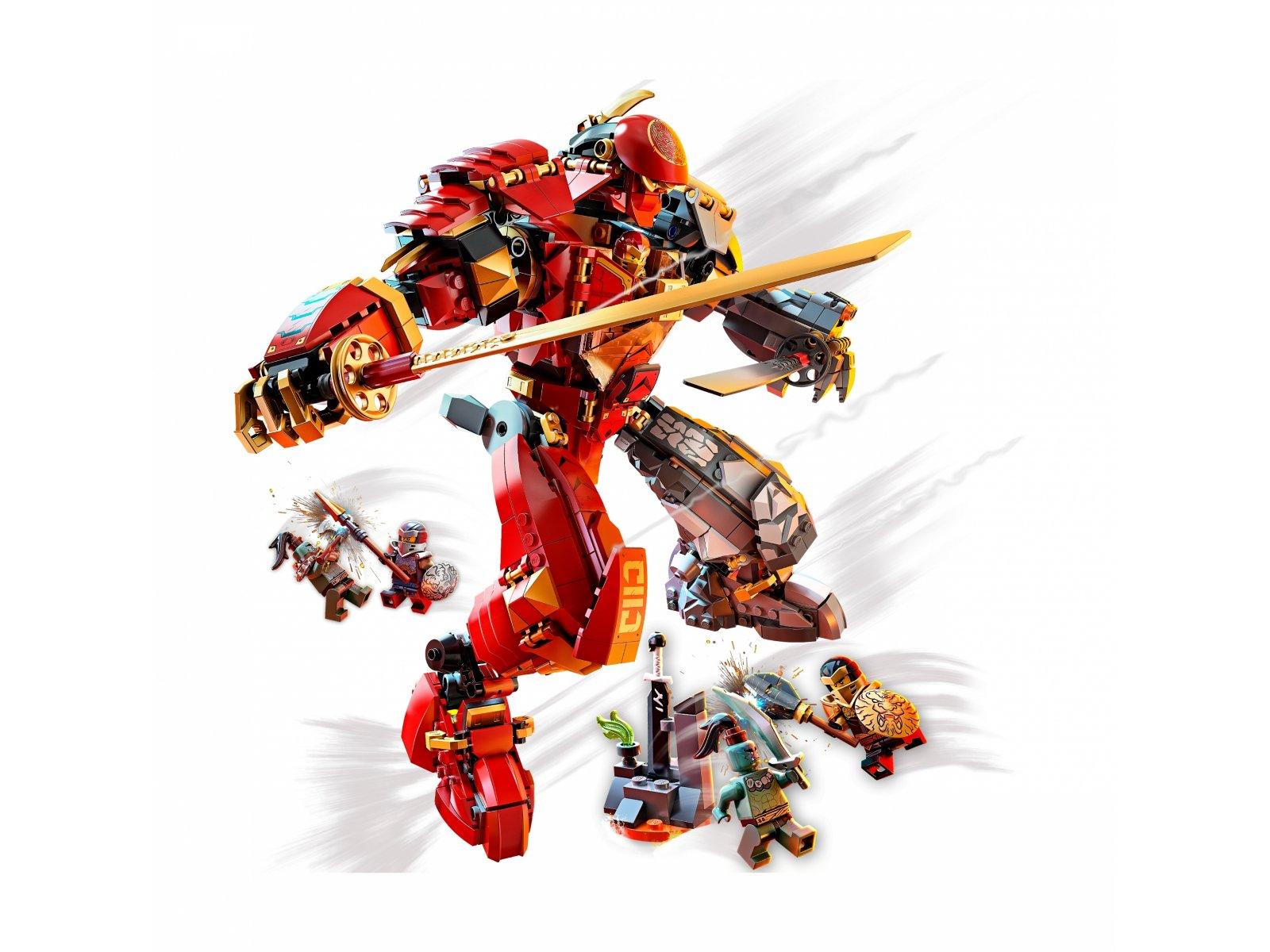 LEGO Ninjago® 71720 Mech z ognia i kamienia