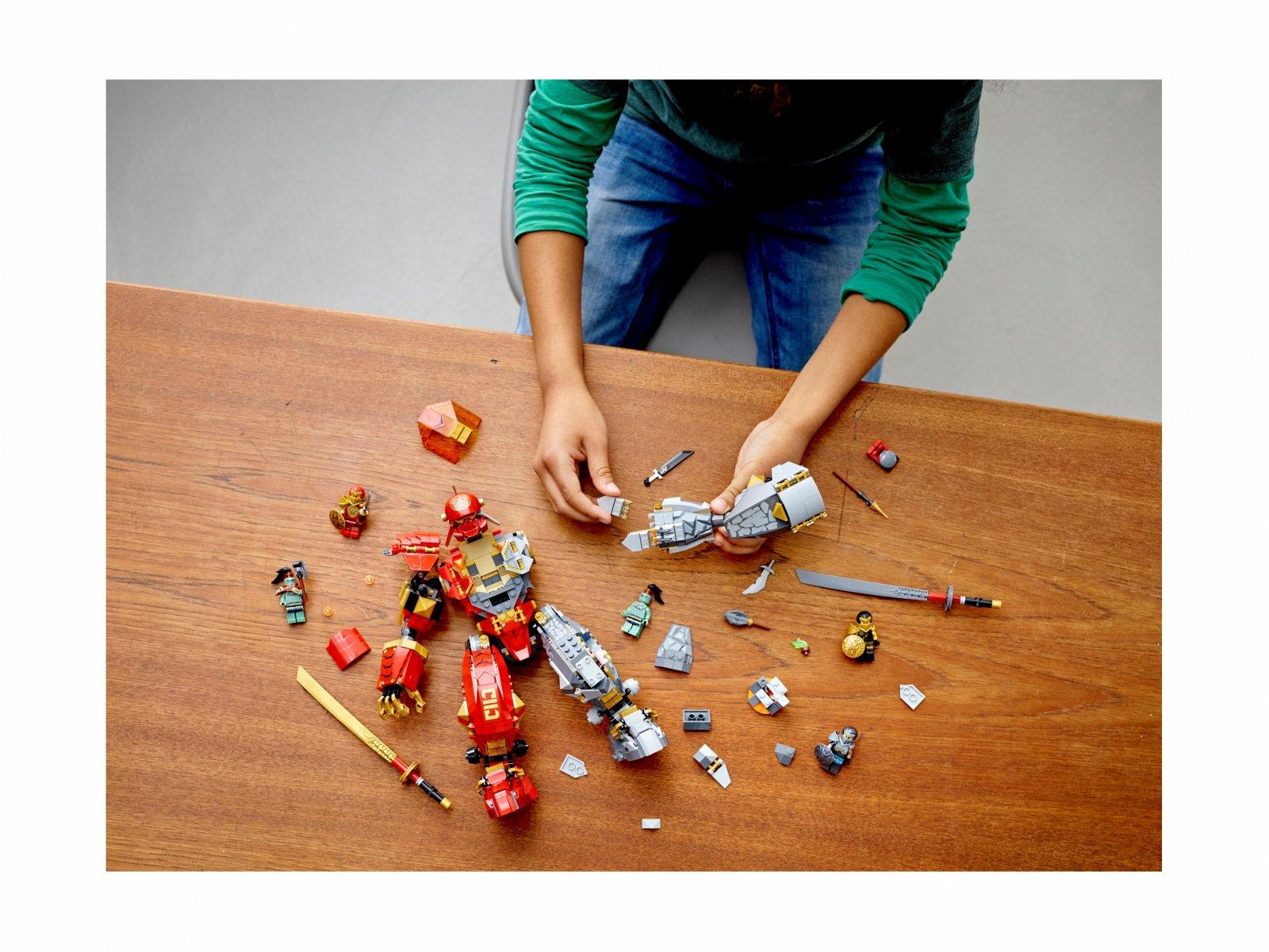 LEGO Ninjago® Mech z ognia i kamienia 71720