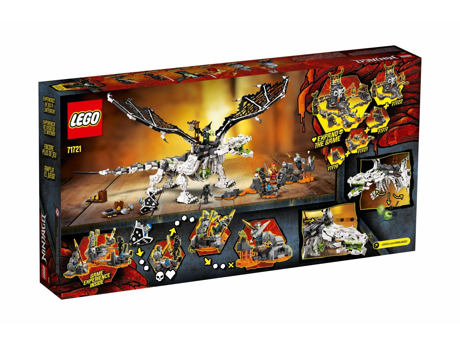 LEGO 71721 Smok Szkieletowego Czarownika