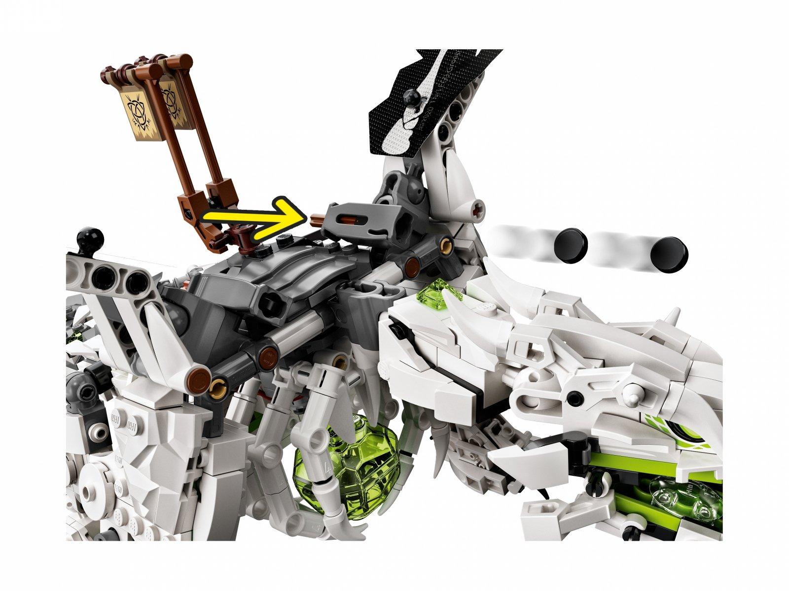 LEGO 71721 Ninjago® Smok Szkieletowego Czarownika