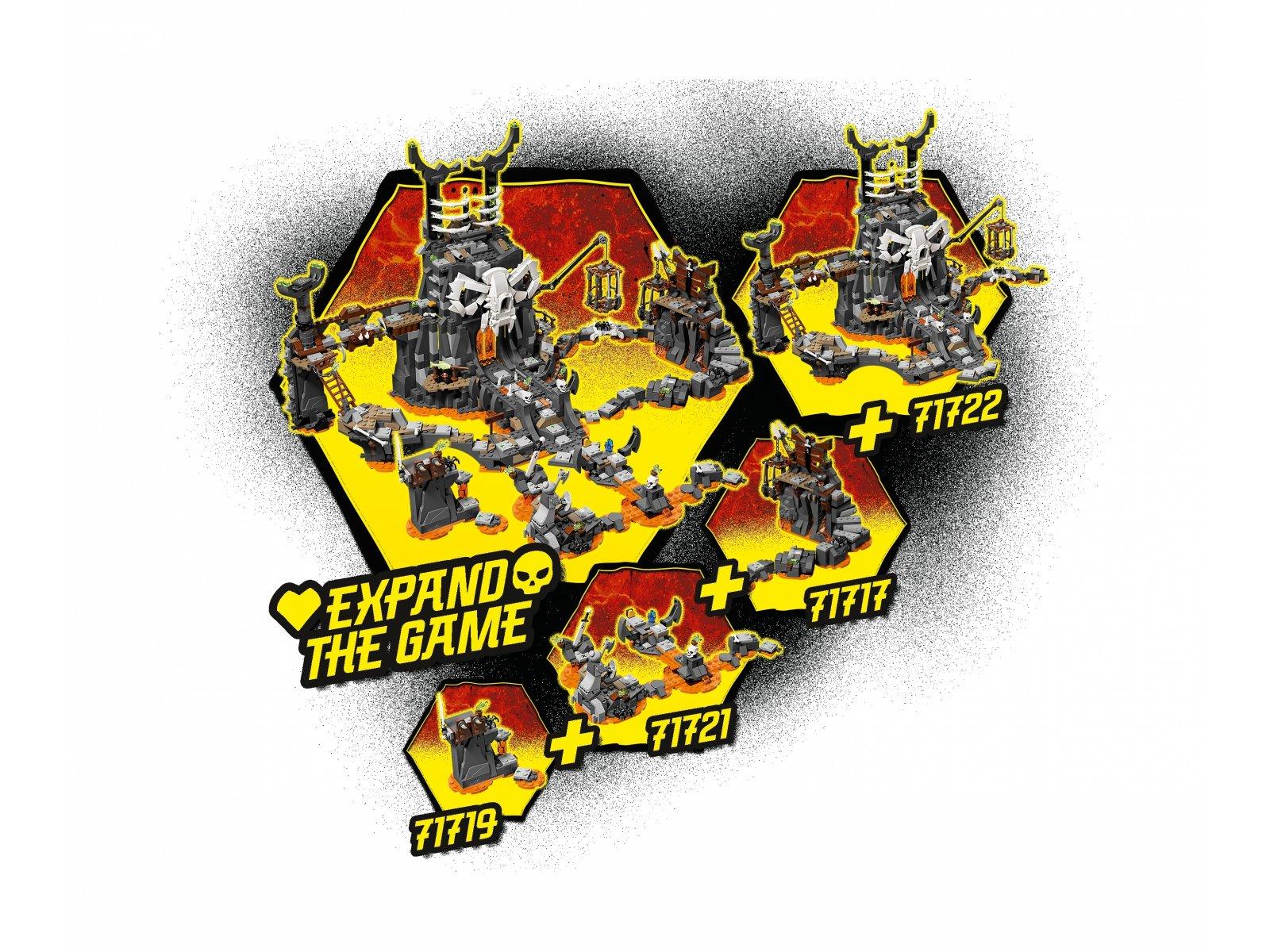 LEGO Ninjago® 71721 Smok Szkieletowego Czarownika