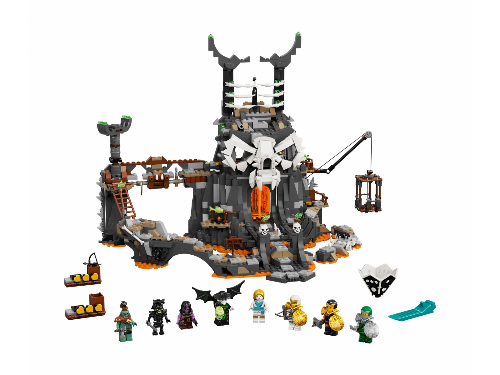 LEGO Ninjago® 71722 Lochy Szkieletowego Czarownika