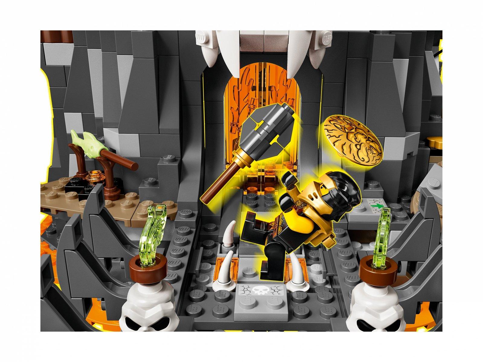 LEGO 71722 Lochy Szkieletowego Czarownika