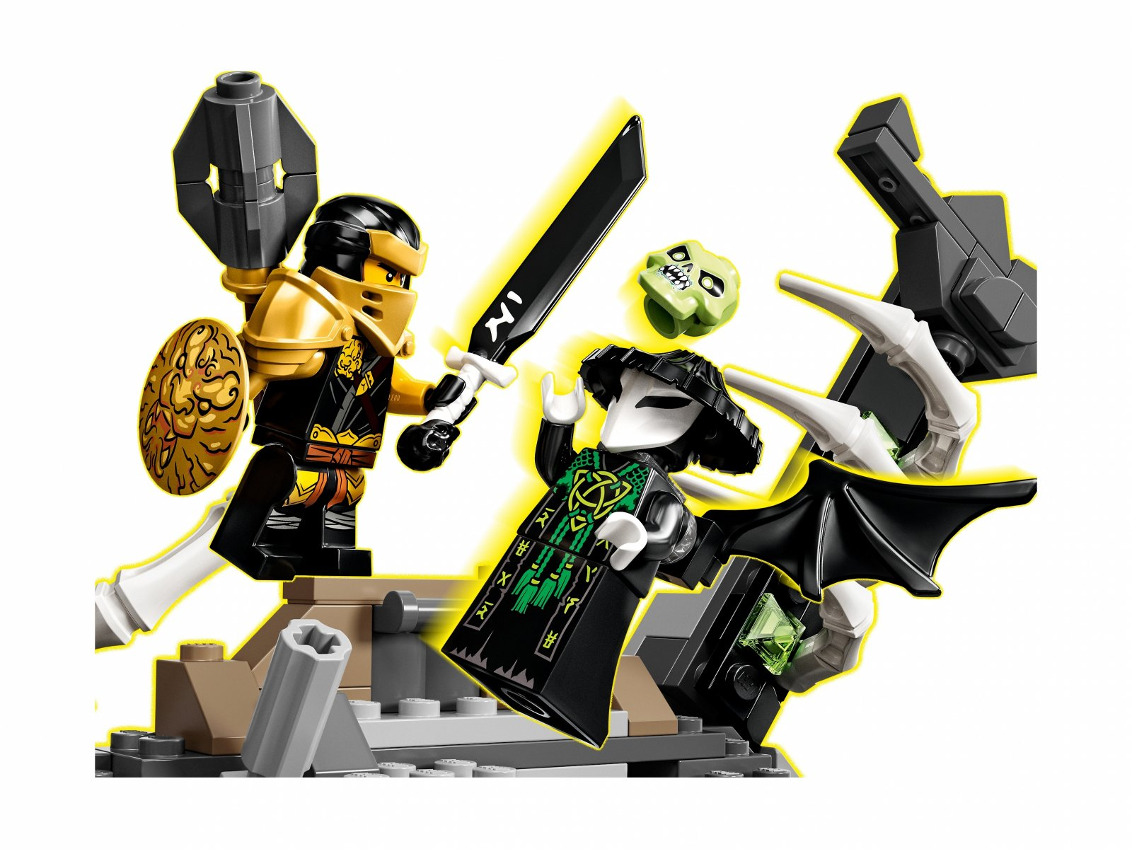 LEGO Ninjago® Lochy Szkieletowego Czarownika 71722