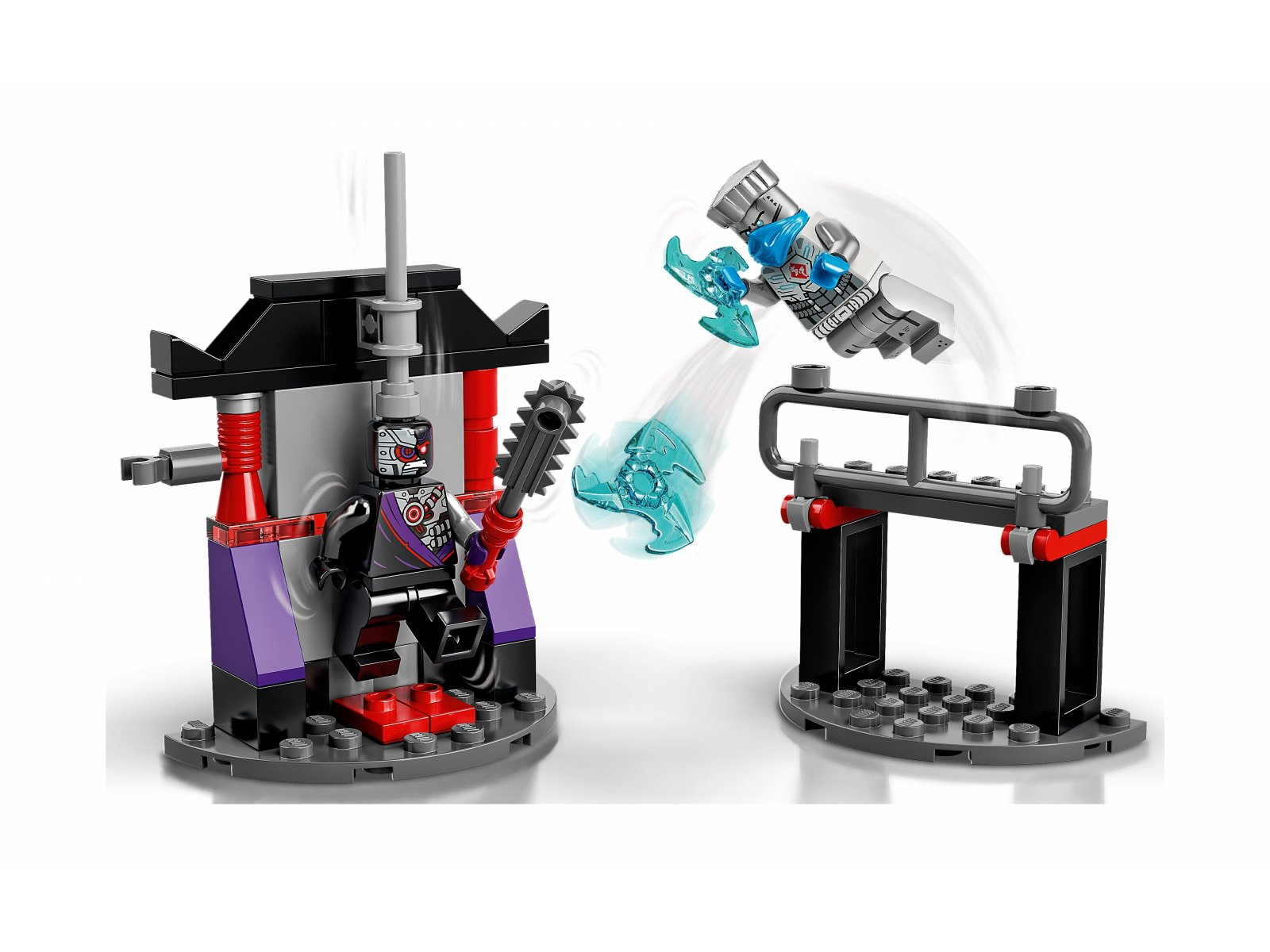 LEGO Ninjago 71731 Epicki zestaw bojowy - Zane kontra Nindroid