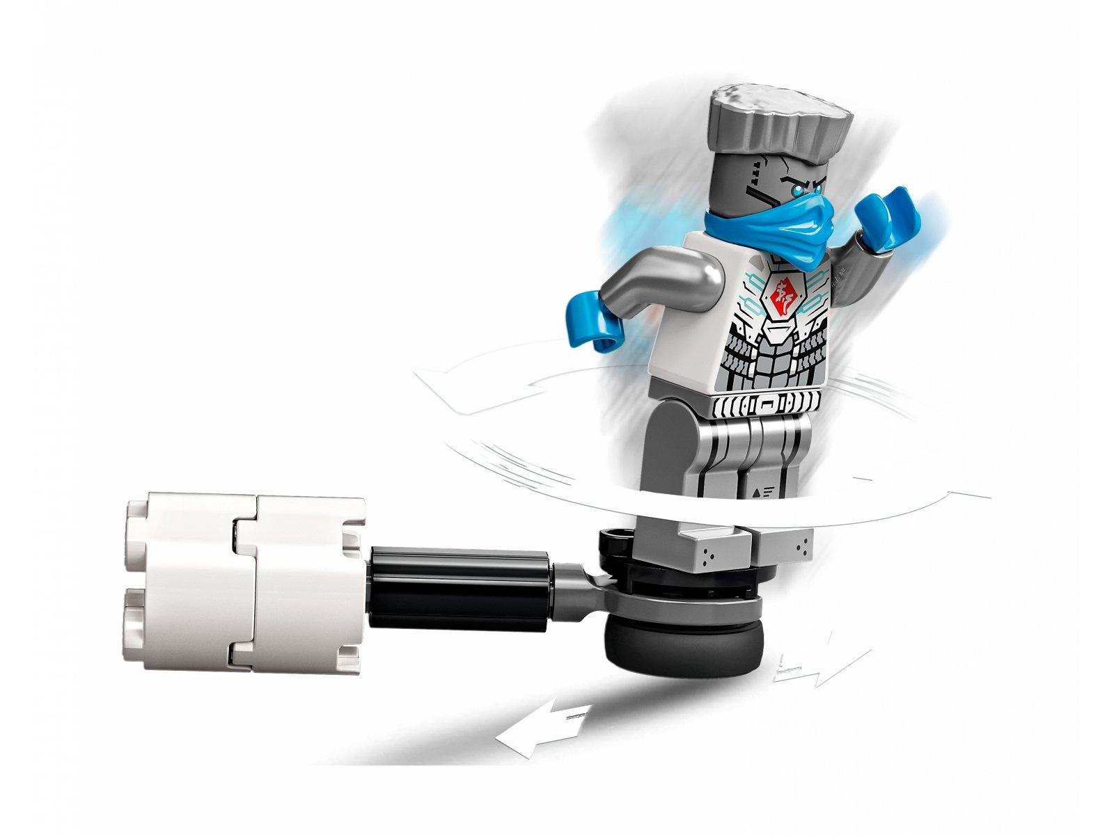 LEGO 71731 Ninjago Epicki zestaw bojowy - Zane kontra Nindroid