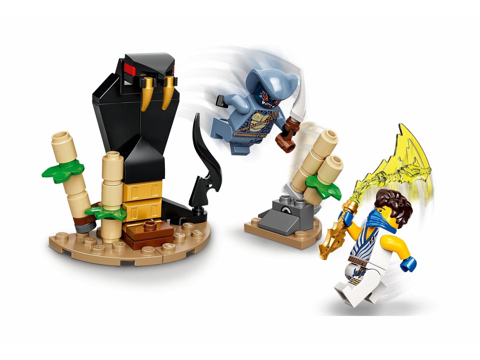 LEGO 71732 Epicki zestaw bojowy - Jay kontra Wężon
