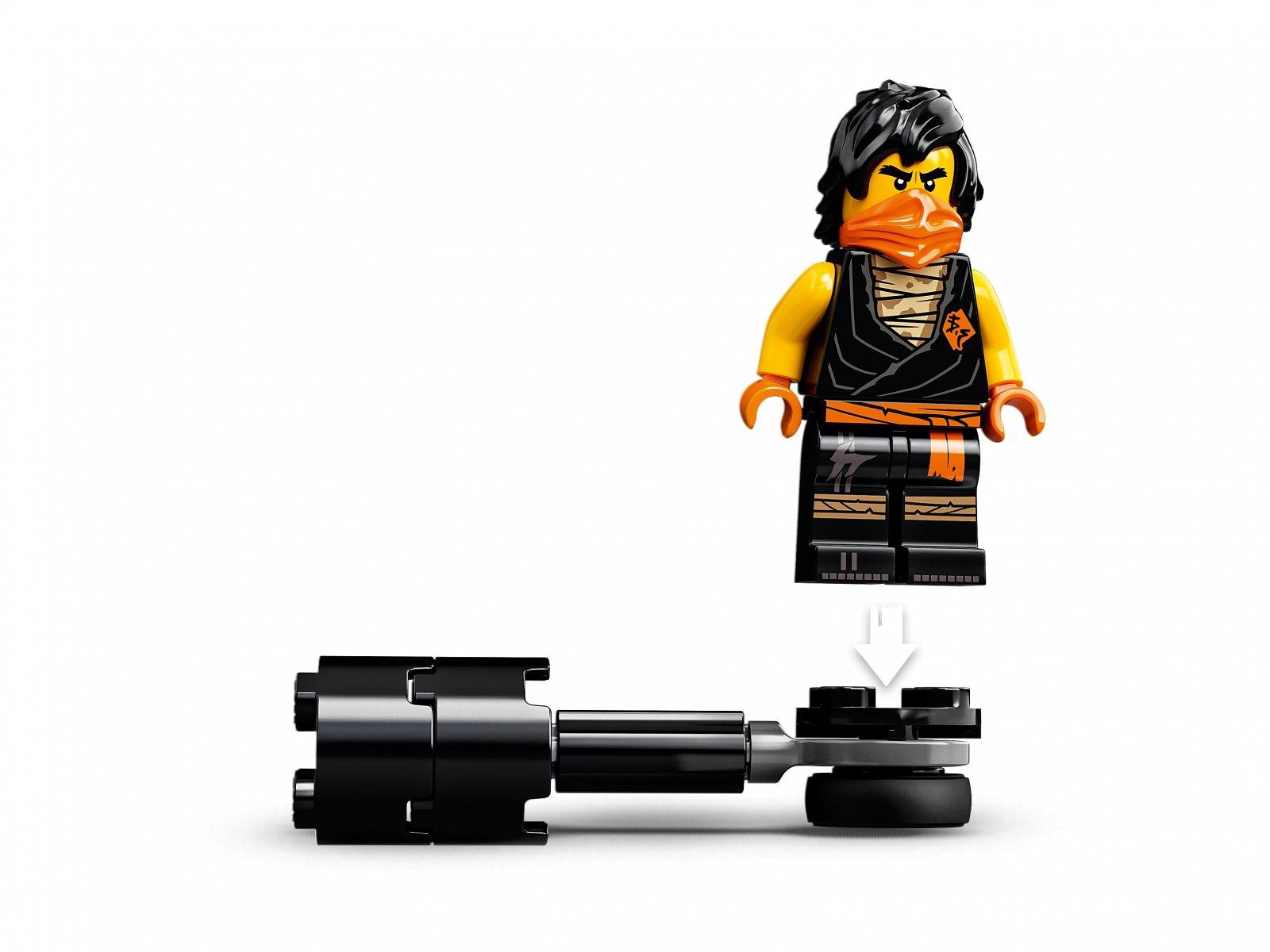 LEGO 71733 Epicki zestaw bojowy - Cole kontra Wojownik-Duch