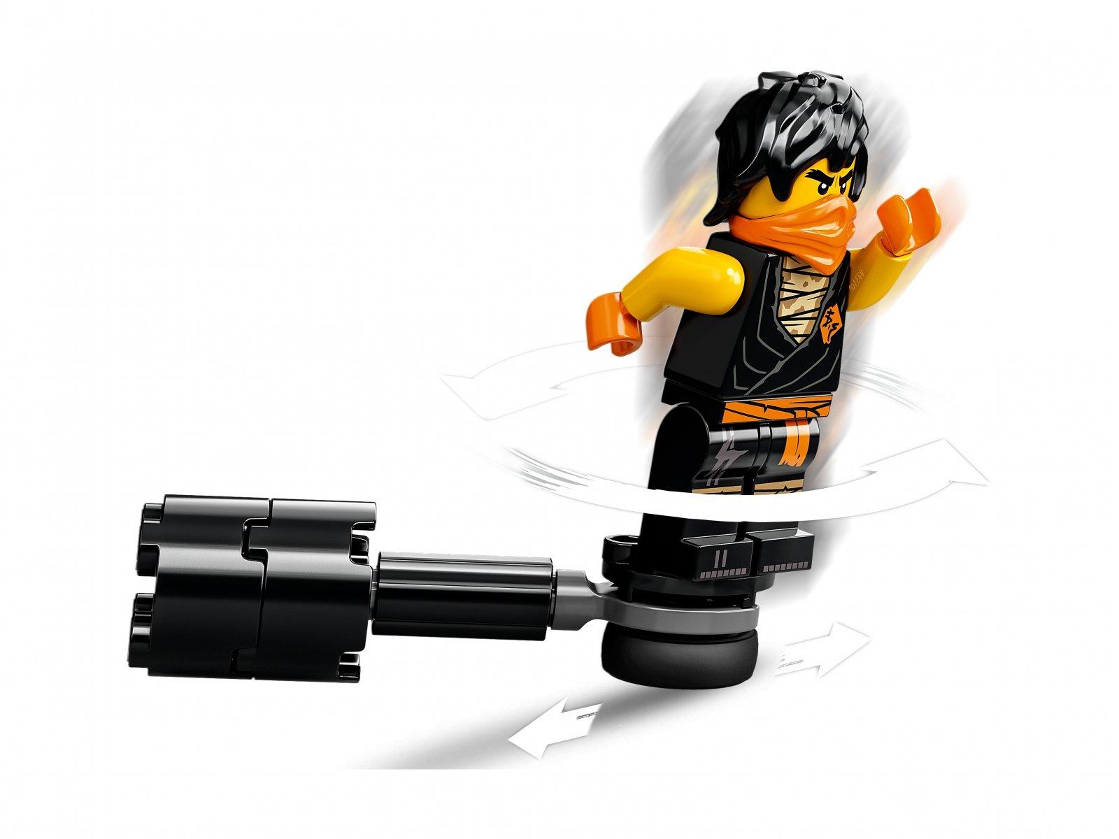 LEGO Ninjago® 71733 Epicki zestaw bojowy - Cole kontra Wojownik-Duch