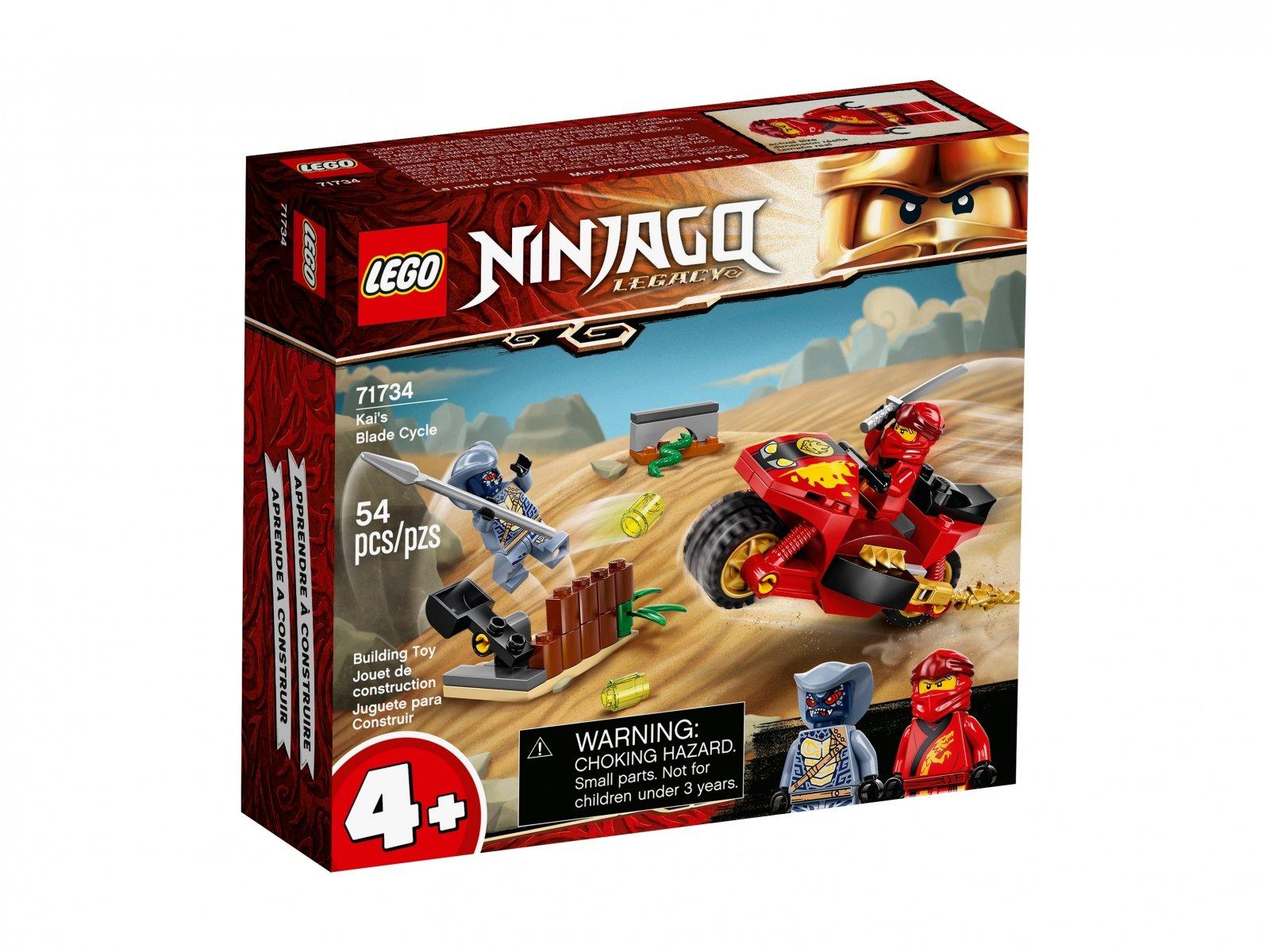 LEGO 71734 Ninjago Motocykl Kaia