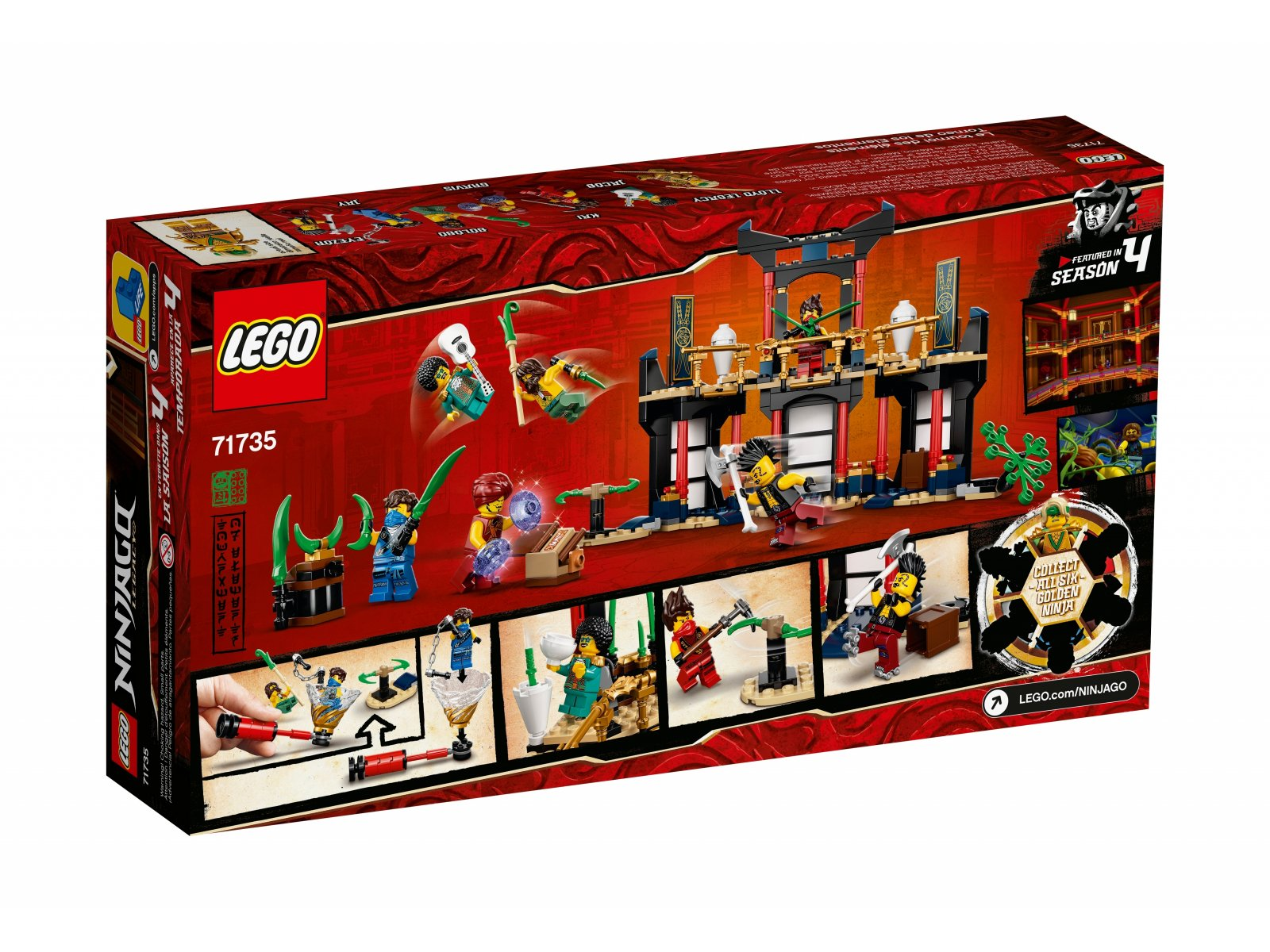 LEGO 71735 Turniej Żywiołów