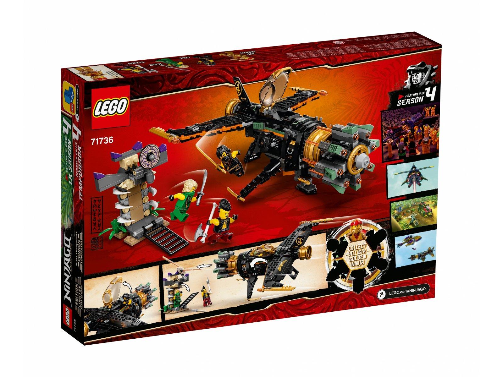 LEGO 71736 Kruszarka skał