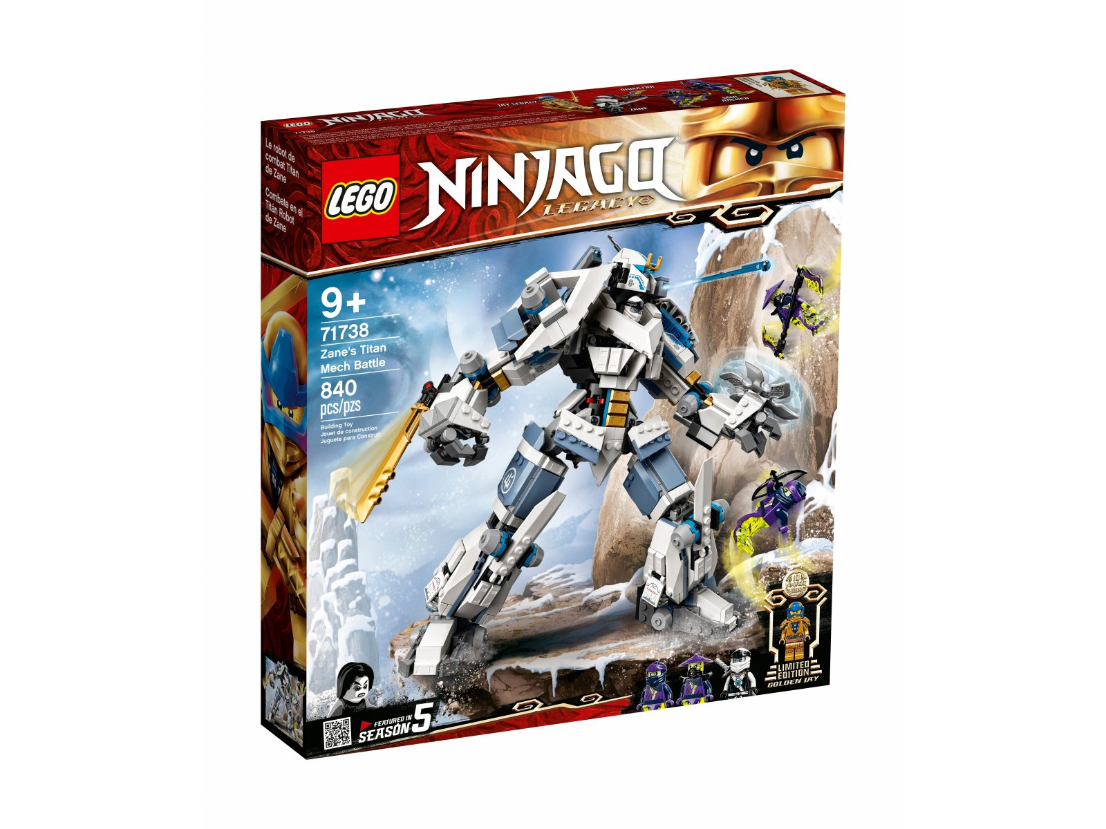 LEGO 71738 Starcie tytanów Mech
