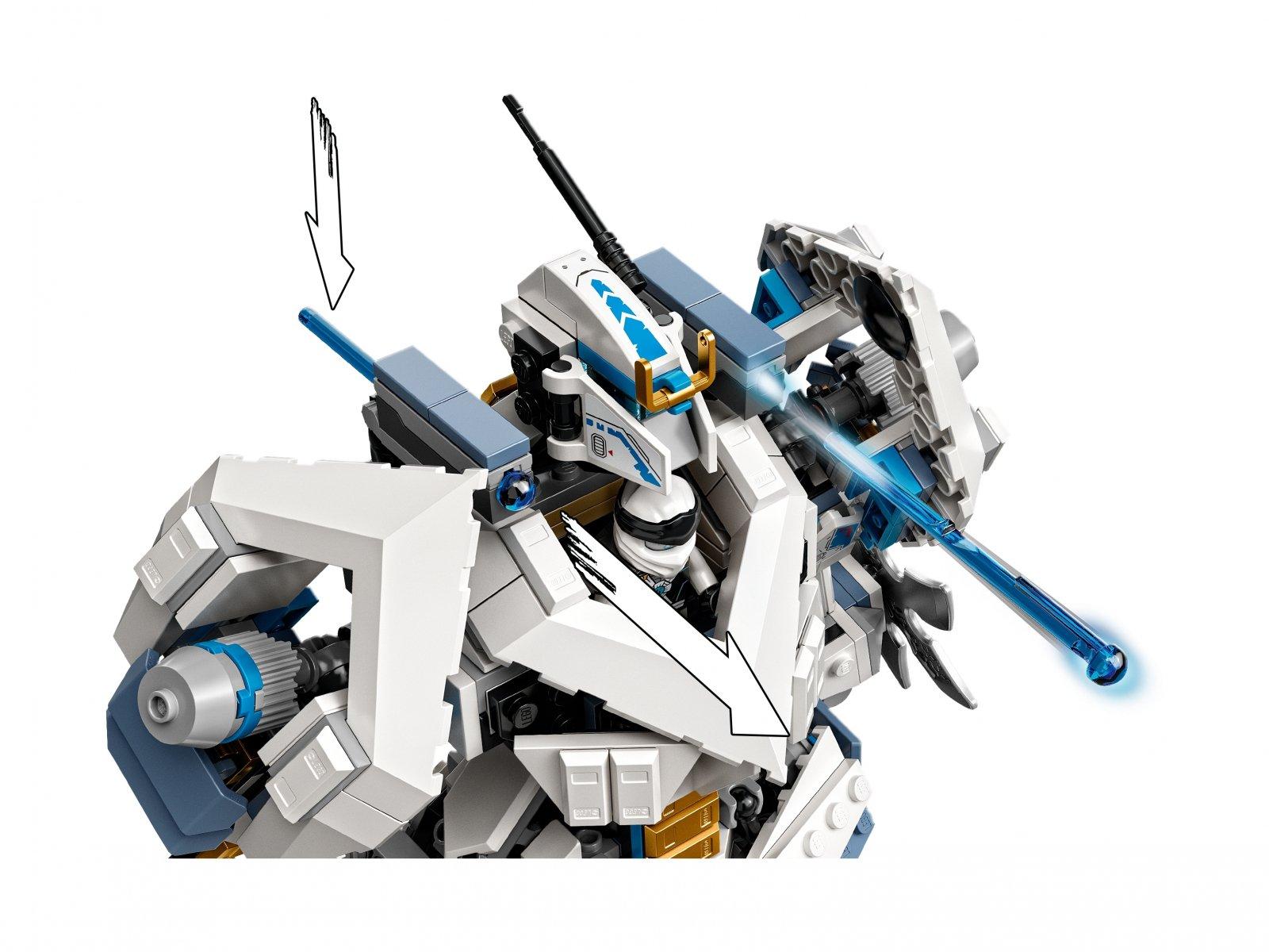 LEGO 71738 Ninjago Starcie tytanów Mech