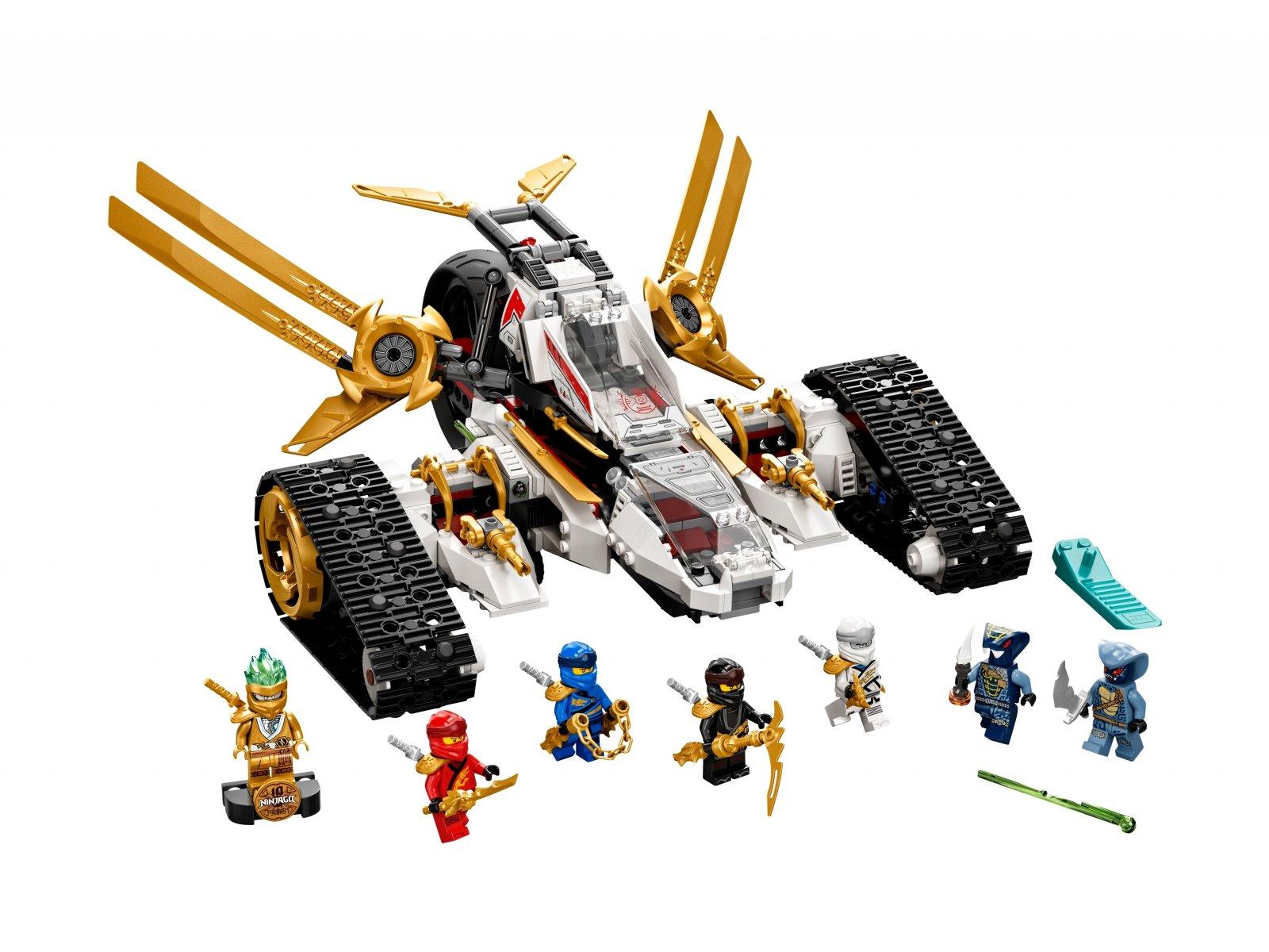 LEGO 71739 Ninjago Pojazd ultradźwiękowy