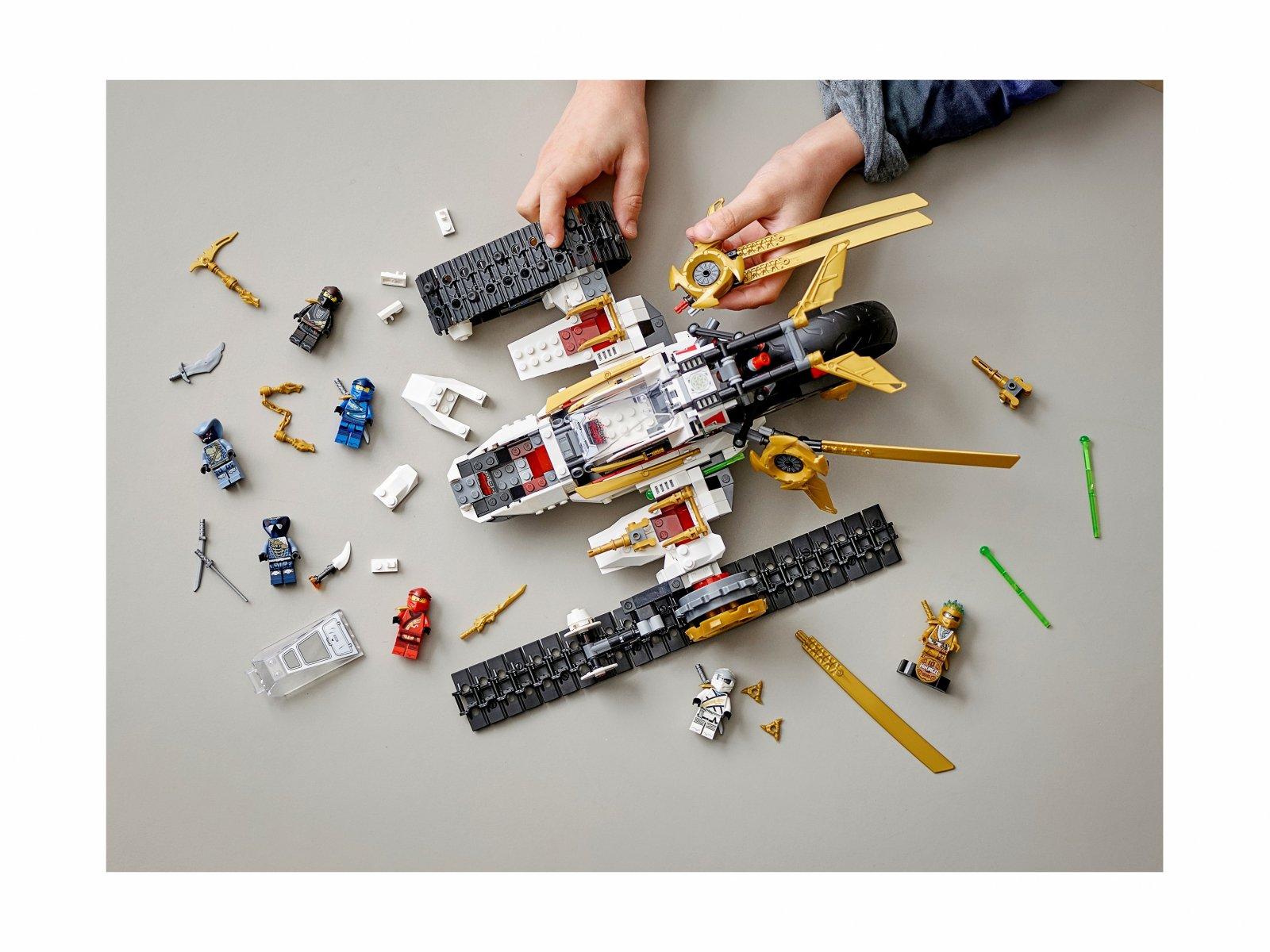 LEGO Ninjago Pojazd ultradźwiękowy 71739