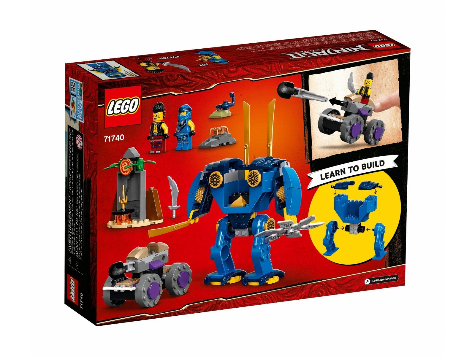 LEGO 71740 Ninjago ElectroMech