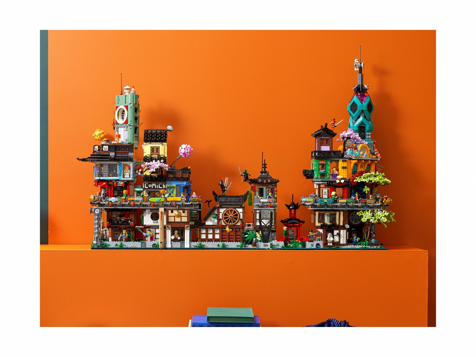 LEGO Ninjago Ogrody miasta NINJAGO® 71741