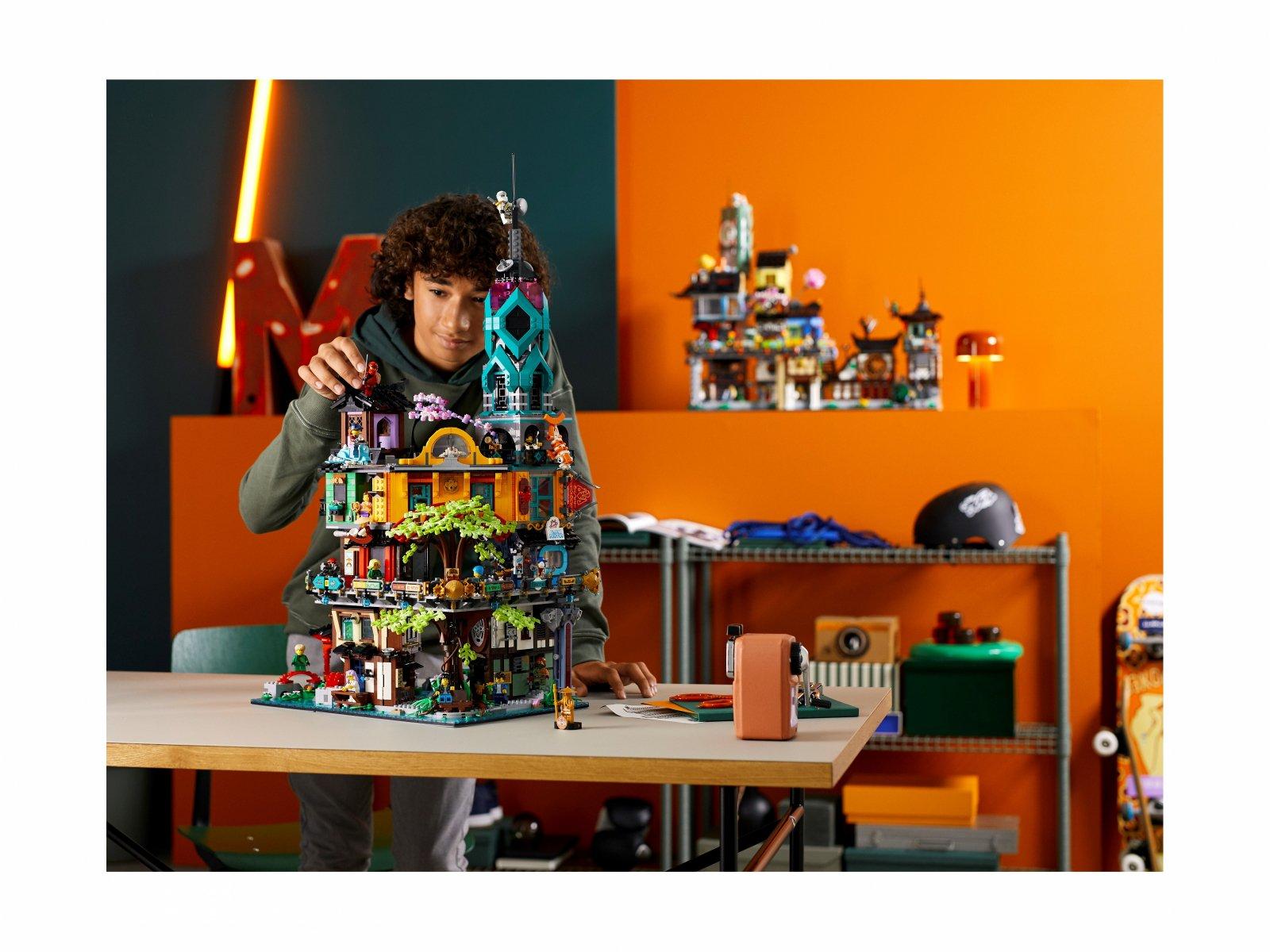LEGO 71741 Ninjago Ogrody miasta NINJAGO®