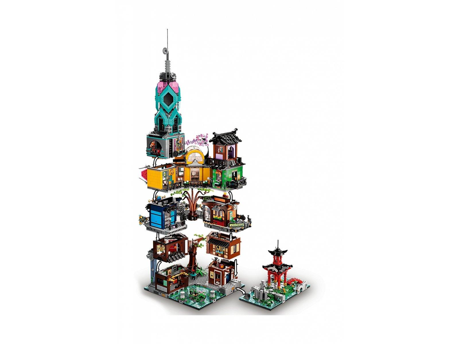 LEGO 71741 Ogrody miasta NINJAGO®