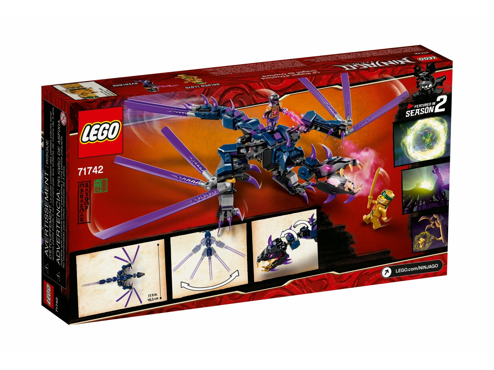 LEGO 71742 Ninjago® Smok Overlorda