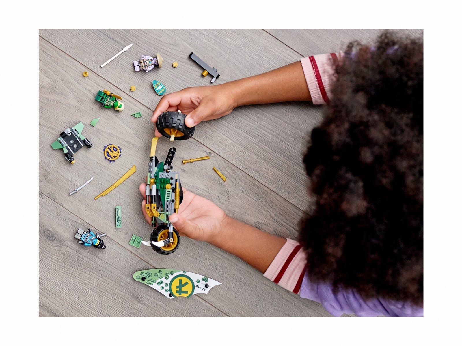 LEGO 71745 Dżunglowy chopper Lloyda