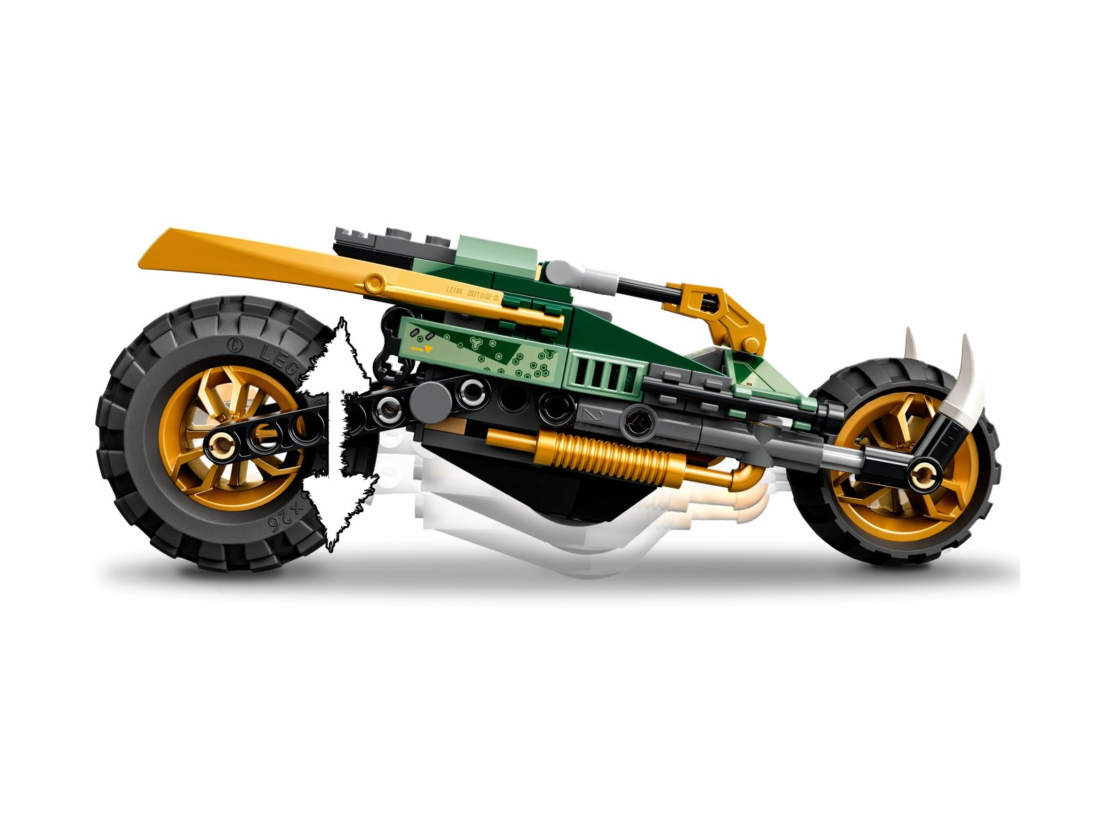 LEGO 71745 Ninjago Dżunglowy chopper Lloyda