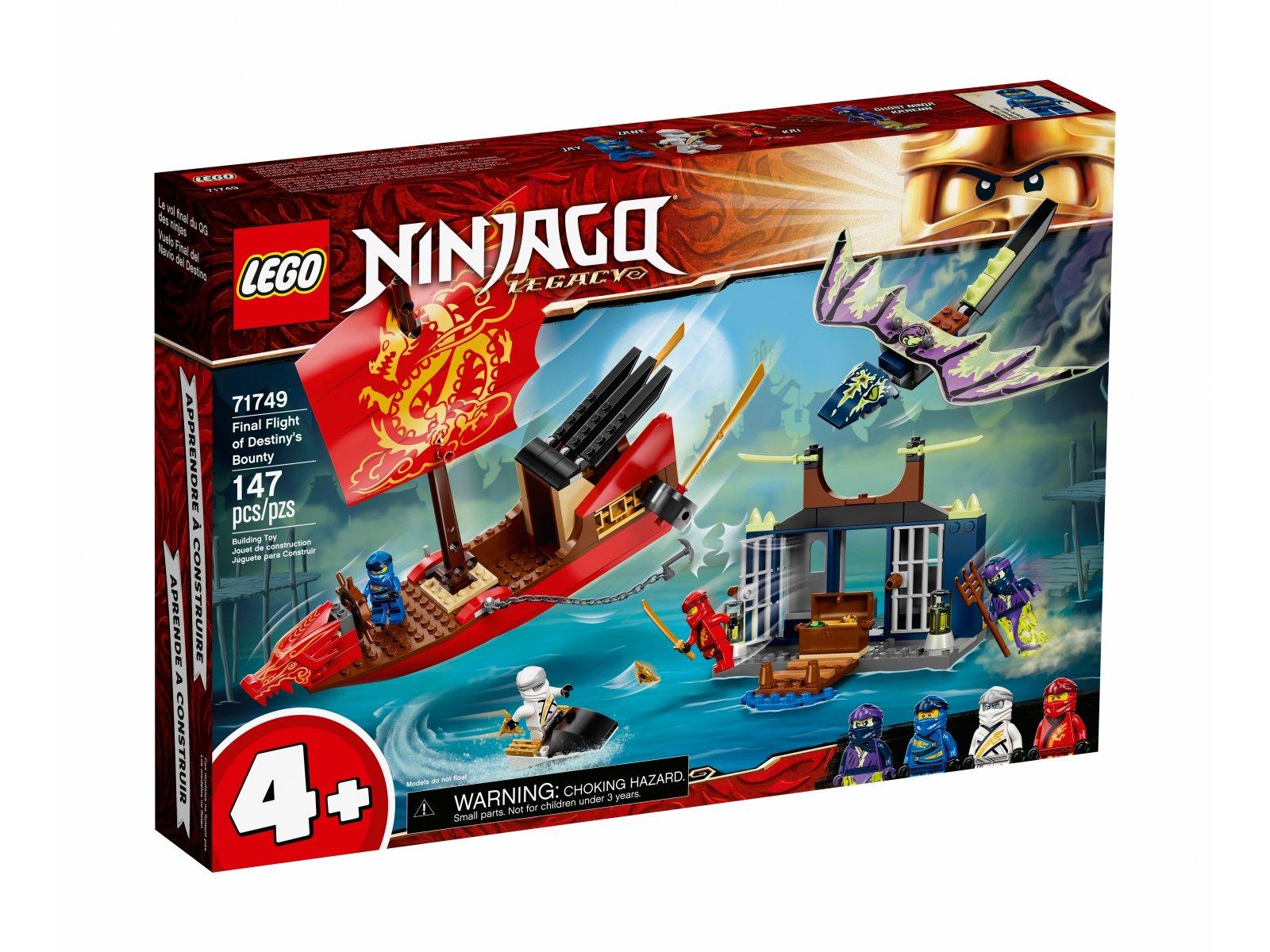LEGO Ninjago Ostatni lot Perły Przeznaczenia 71749