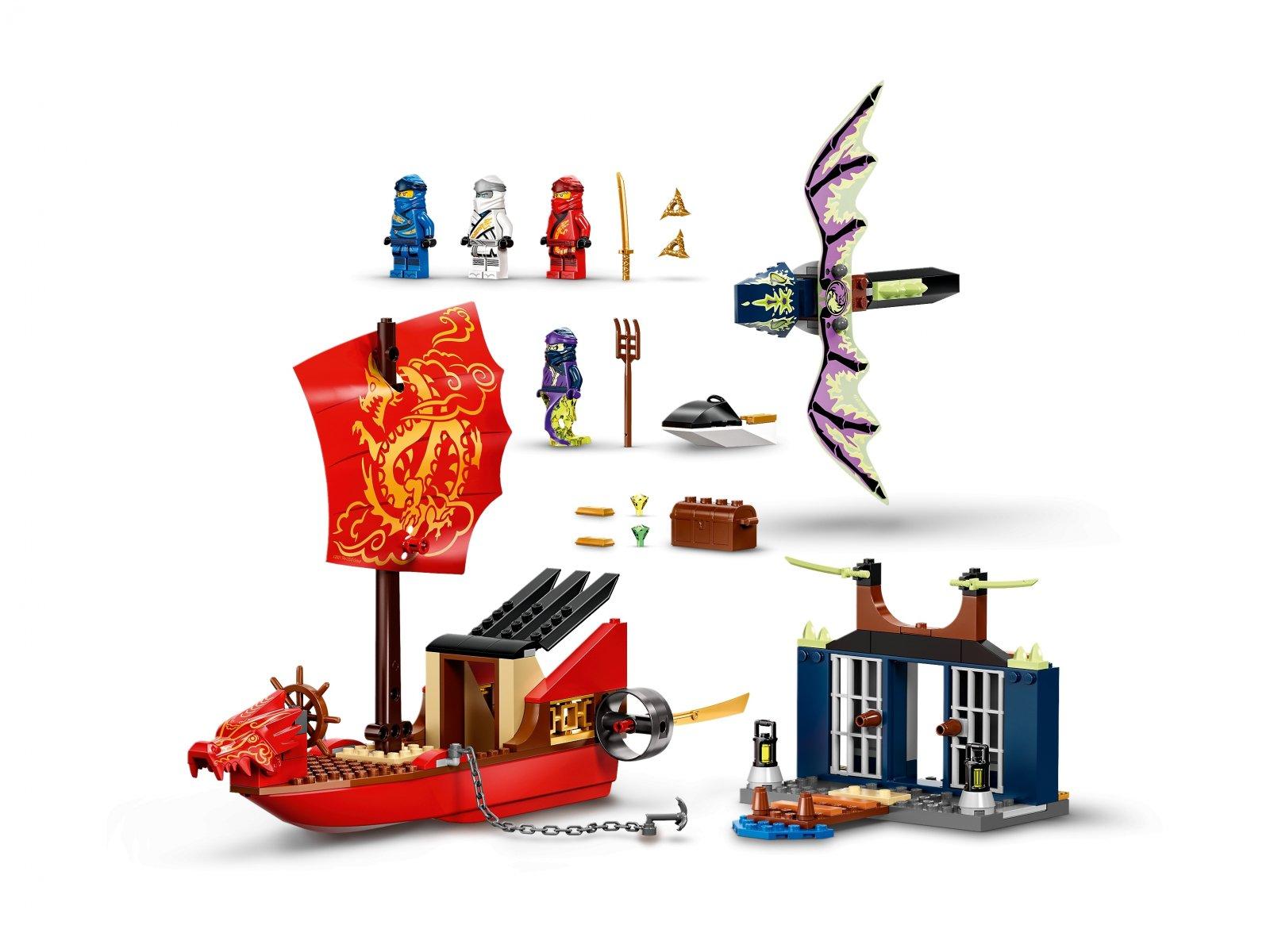 LEGO 71749 Ninjago Ostatni lot Perły Przeznaczenia