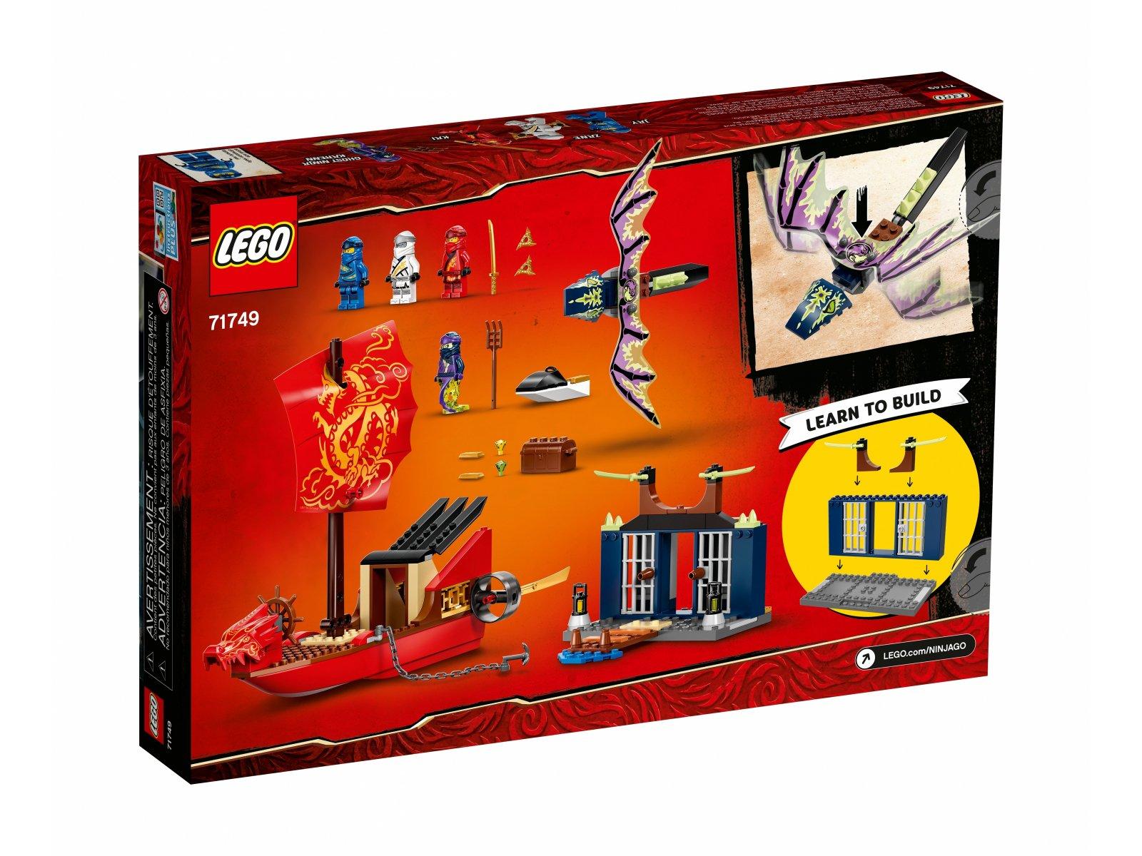 LEGO Ninjago 71749 Ostatni lot Perły Przeznaczenia