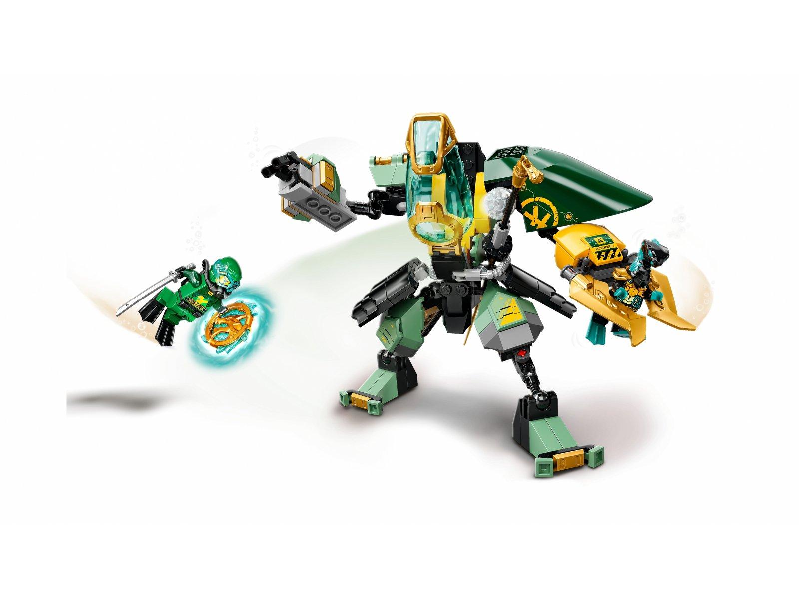 LEGO Ninjago 71750 Wodny mech Lloyda