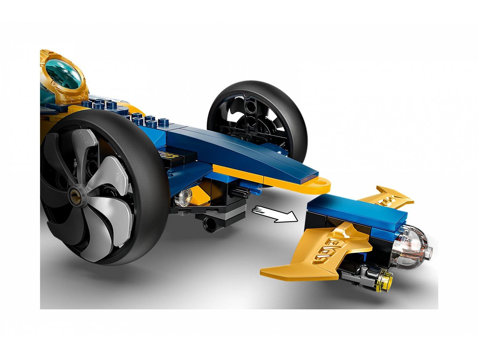 LEGO 71752 Podwodny śmigacz ninja