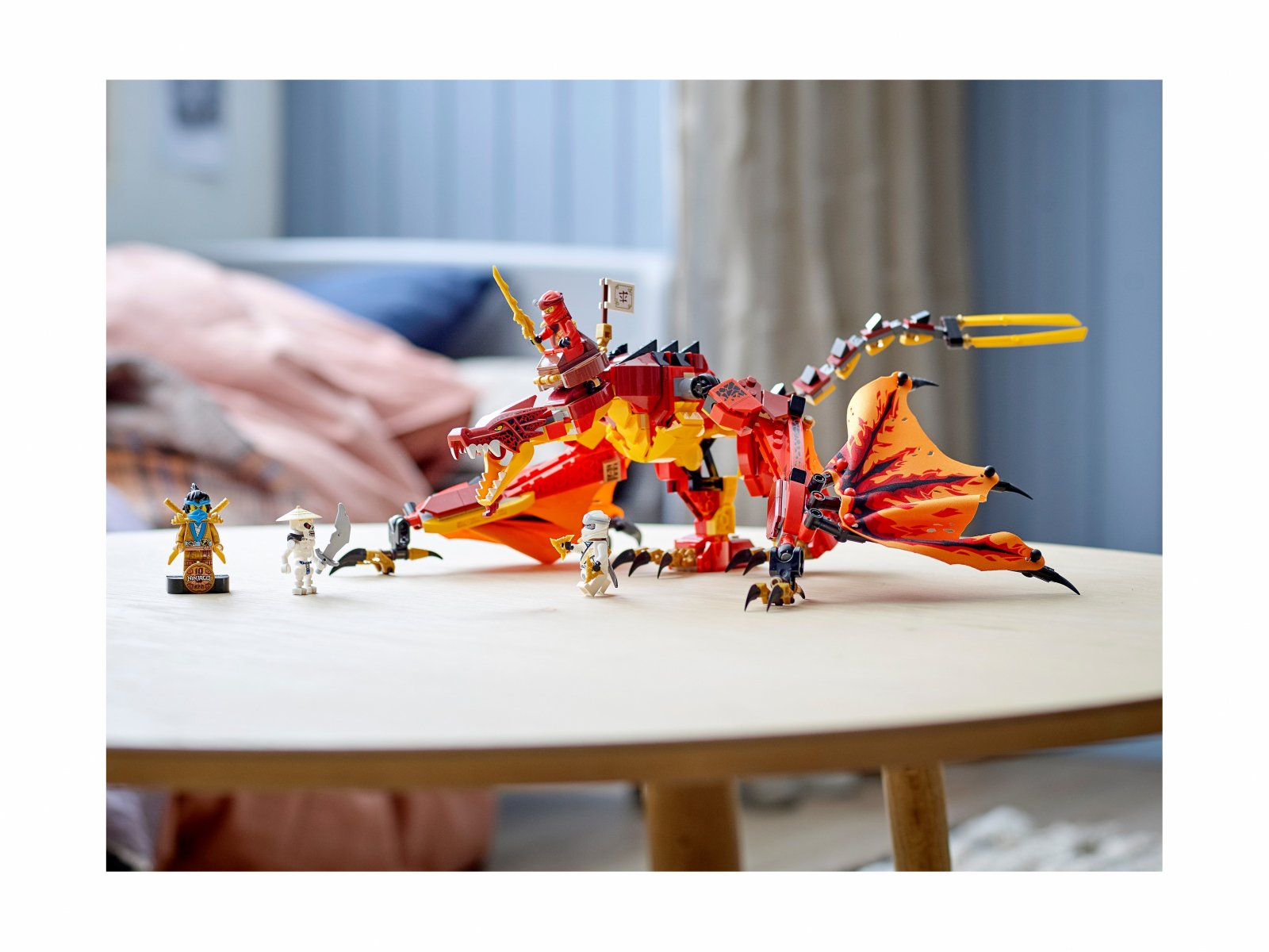 LEGO 71753 Ninjago Atak smoka ognia