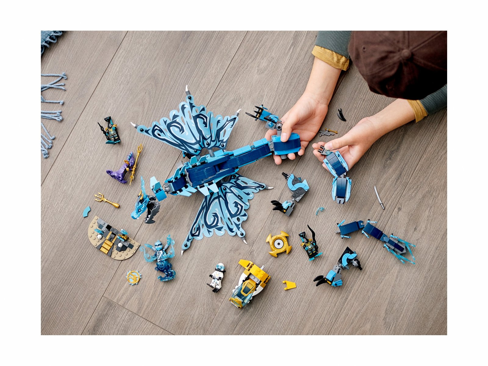 LEGO Ninjago 71754 Smok wodny