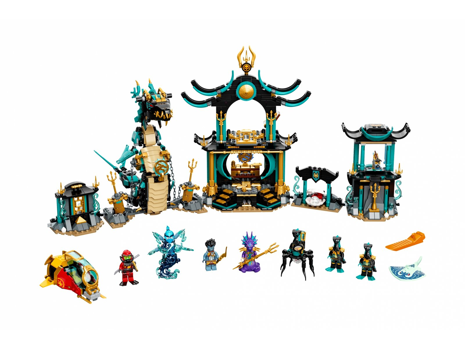 LEGO Ninjago Świątynia Bezkresnego Morza 71755