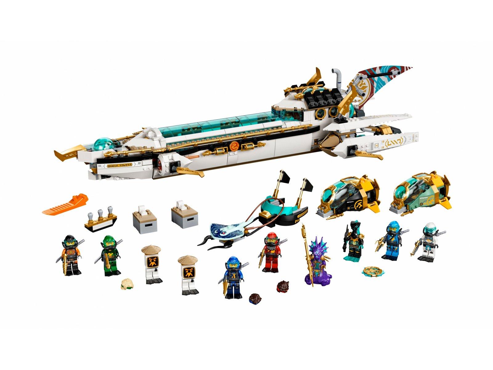 LEGO 71756 Pływająca Perła