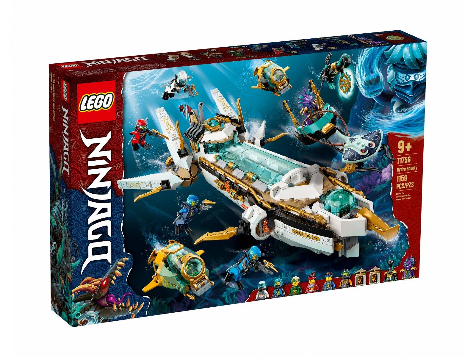 LEGO Ninjago 71756 Pływająca Perła