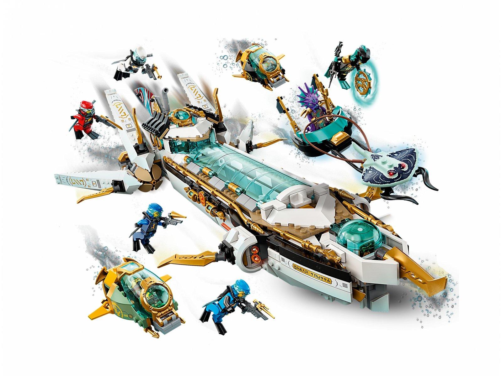 LEGO Ninjago Pływająca Perła 71756